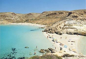 Lampedusa ile d'italie pour des vacances inoubliab
